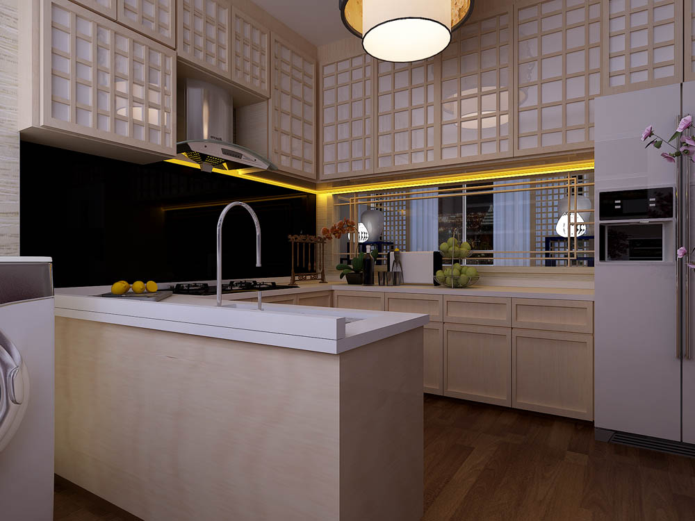Oriental hdb for Kitchen ideas singapore